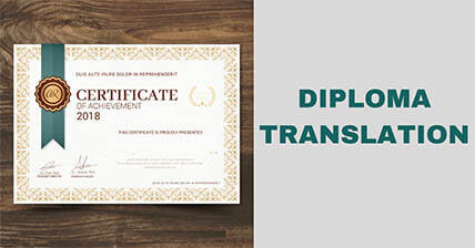 Diploma Translation Services