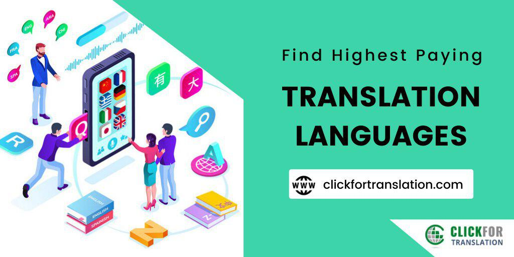 Highest Paying Language Translation